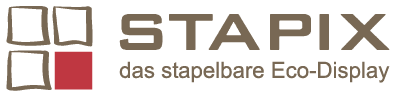 STAPIX - Das stapelbare Eco-Display