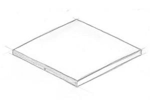 Skizze 1er-Deckplatte