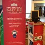 Stand der Hannoverschen Kaffeemanufaktur bei Hannover 96