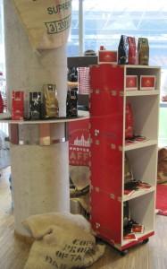 Stand der Hannoverschen Kaffeemanufaktur bei der WMH 2013