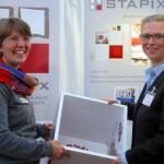 Gyn Kraft mit Birgit Feeß, Geschäftsführerin der Pro Hannover Region